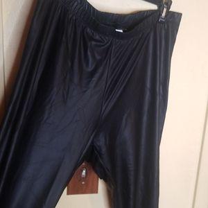 Torrid Faux leather leggins